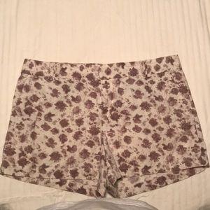 Loft floral shorts